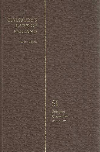 9780406034519: Halsbury's Laws of England - Volume 51