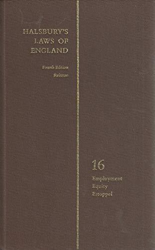 9780406034656: Halsbury's laws of England