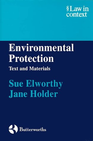 9780406037701: Environmental Protection (Law in Context)
