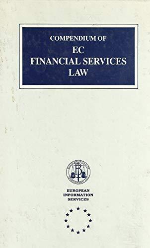 Compendium of EC Financial Services: European Information Services