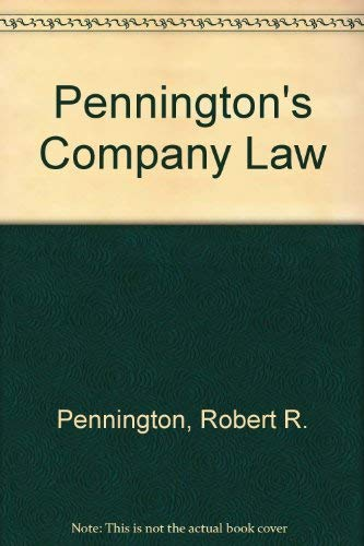 9780406045744: Pennington's Company Law