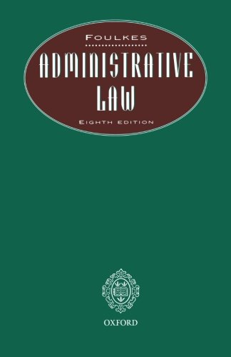 9780406046482: Administrative Law 8e P (Butterworths Student Statutes)