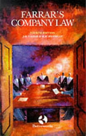 Farrar's Company Law : Fourth ( 4th: John H. Farrar,etc.,