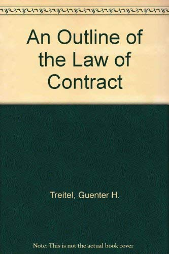 9780406052247: An Outline of the Law of Contract
