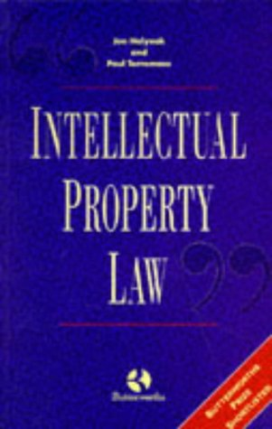 9780406052452: Intellectual Property Law