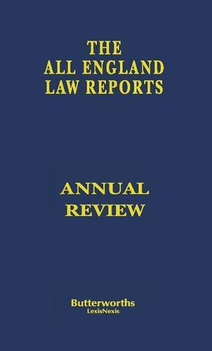 9780406062895: The All England Law Reports - Annual Review 1996