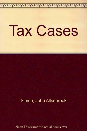 Simon s Tax Cases 1979.: Rengan Krishnan.