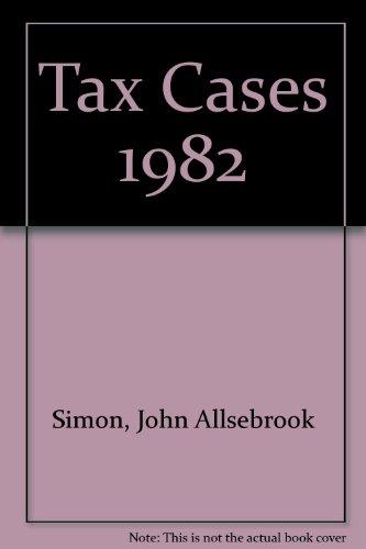 Simon's Tax Cases 1982: Krishnan, R.