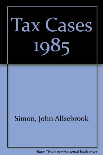 Simon's Tax Cases 1985: Krishnan, R.