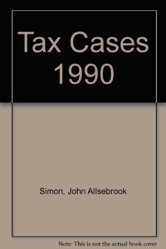 Simon's Tax Cases 1990: Krishnan, R.