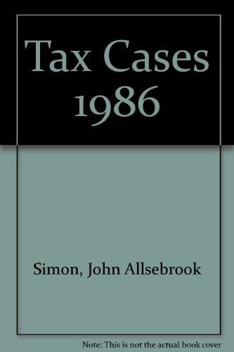 Simon's Tax Cases 1986: Krishnan, R.