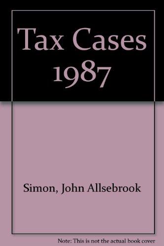 Simon's Tax Cases 1987: Krishnan, R.