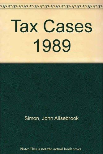 Simon's Tax Cases 1989: Krishnan, R.