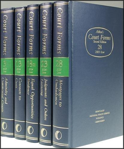 Atkin's Court Forms (Pt. 20)