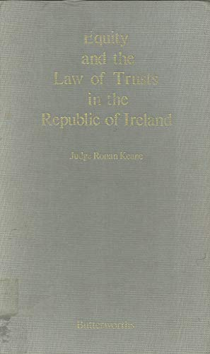 9780406102706: Equity and the Law of Trusts in the Republic of Ireland