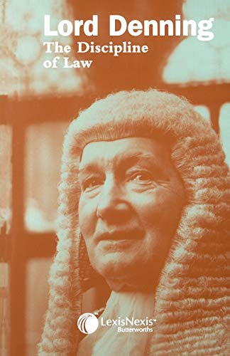 9780406176059: The Discipline of Law