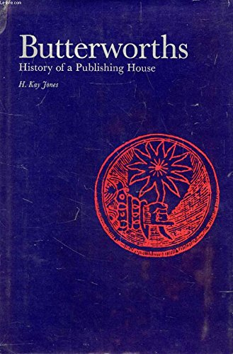9780406176066: Butterworths: History of a Publishing House