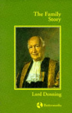 The Family Story (UK HB 1st -: Denning, Lord Alfred