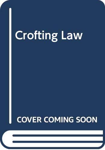 9780406179128: Crofting Law