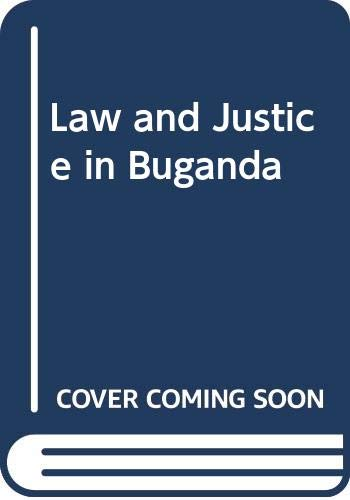 9780406222503: Law and Justice in Buganda