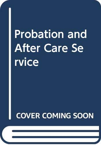 Probation and After Care Service: Joan F. S.