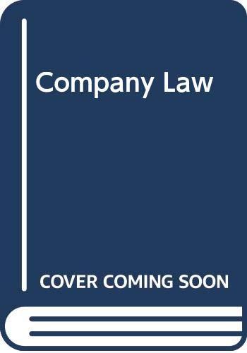 9780406336835: Company Law