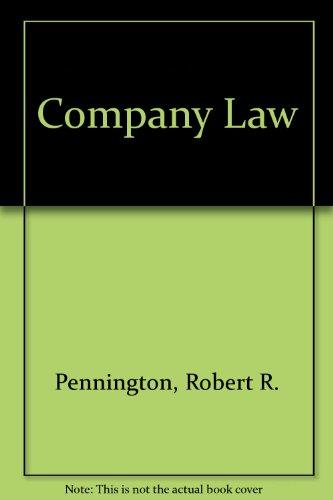 9780406336859: Company Law