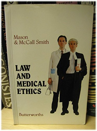 9780406400161: Law and Medical Ethics