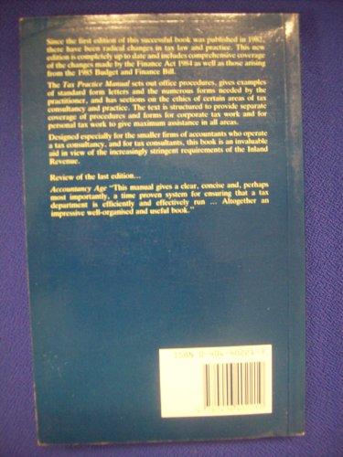 9780406402219: Tax Practice Manual
