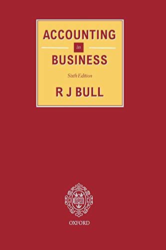 Accounting In Business: R. J. Bull