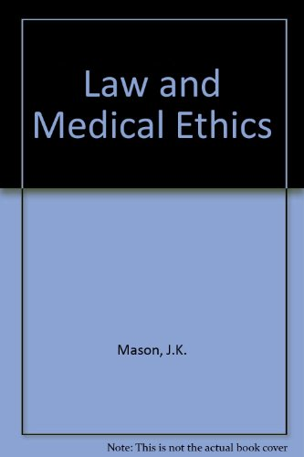 9780406501318: Law and Medical Ethics