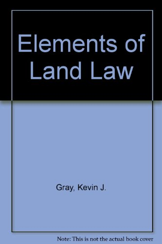 9780406501608: Elements of Land Law