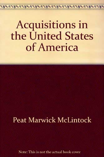 9780406502551: Guide to Acquisitions in the U.S.: Peat Marwick McLintock