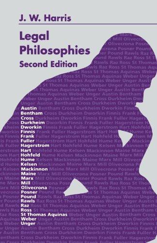 9780406507167: Legal Philosophies