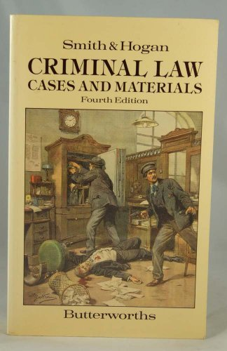Criminal Law: Cases and Materials: J.C. Smith, Brian