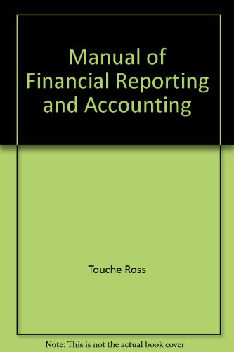MANUAL OF FINANCIAL REPORTING AND ACCOUNTING: KEN WILD