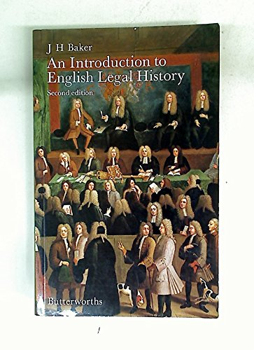 9780406555038: An introduction to English legal history