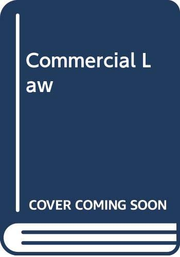 9780406558442: Commercial Law