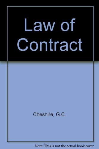 9780406565280: Law of Contract