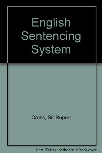 The English Sentencing System