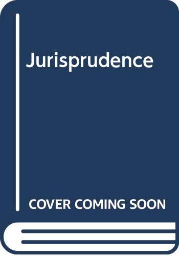 Jurisprudence: R.W.M. Dias