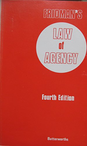 9780406585547: Law of Agency