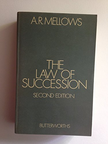 9780406623737: Law of Succession