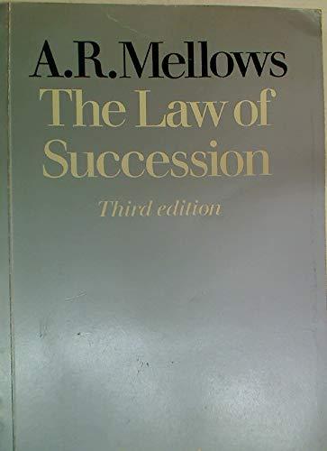 9780406623751: Law of Succession