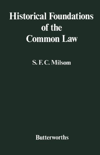 9780406625007: Historical Foundations of the Common Law