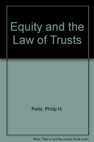 9780406641632: Equity and the Law of Trusts