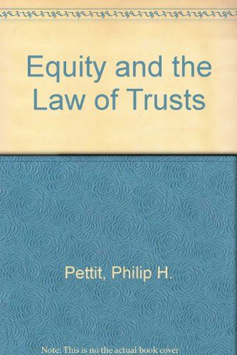 9780406641687: Equity and the Law of Trusts