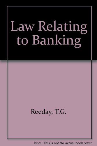 9780406647634: Law Relating to Banking