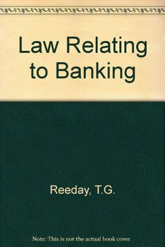 9780406647658: Law Relating to Banking