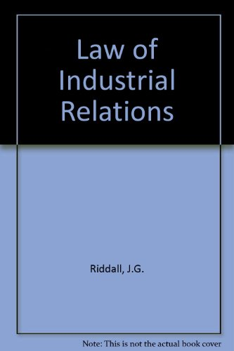 Law of Industrial Relations